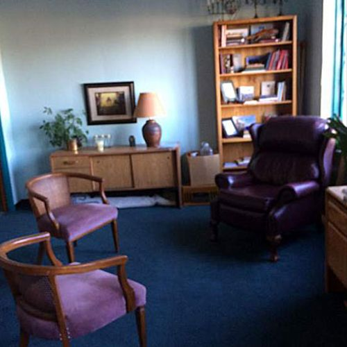 Therapy area for Darian Slayton Fleming Counseling and Consulting