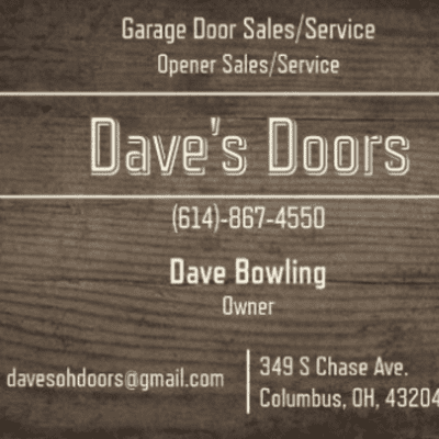 Avatar for Dave's Doors Columbus, OH Thumbtack