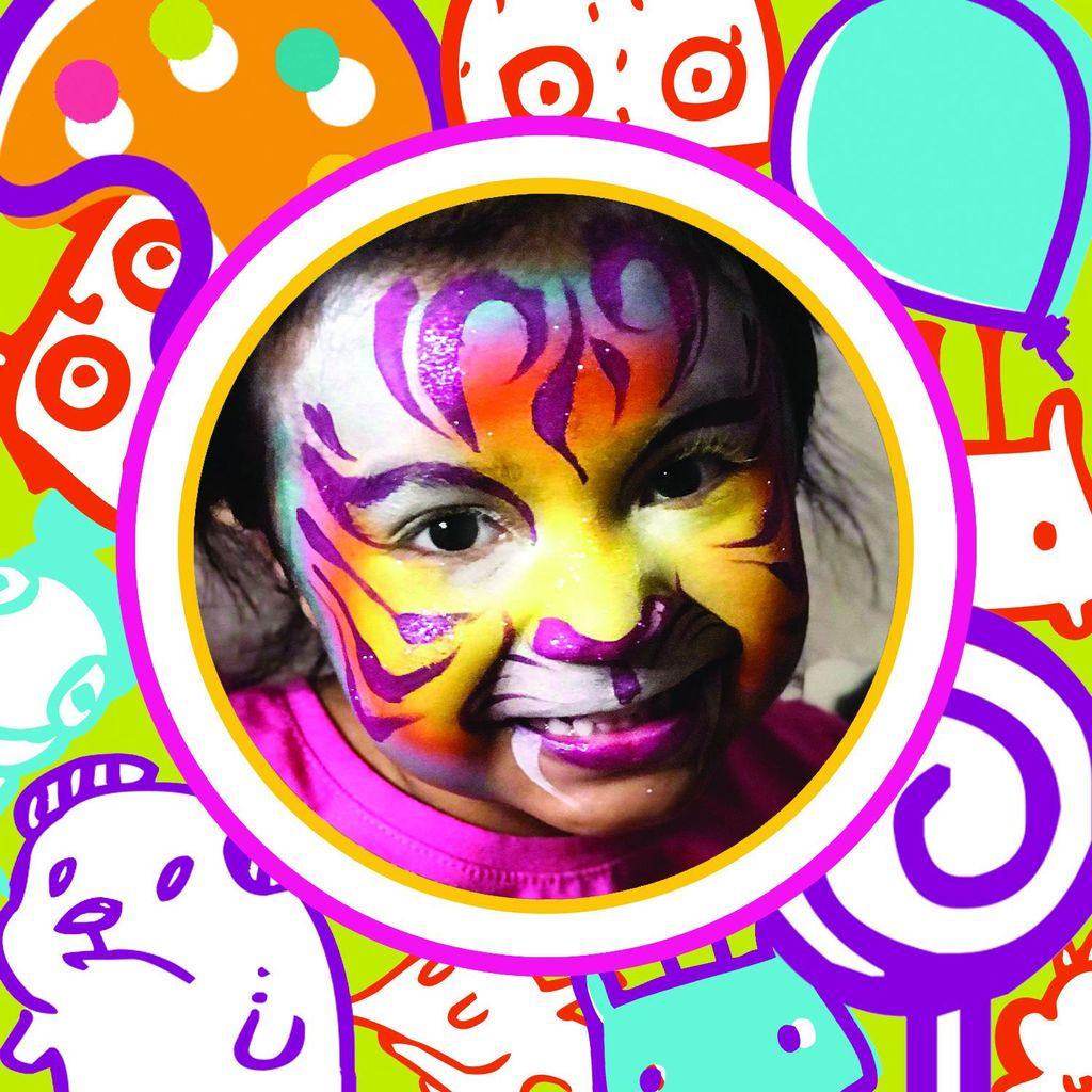 Lollipop Face Painting