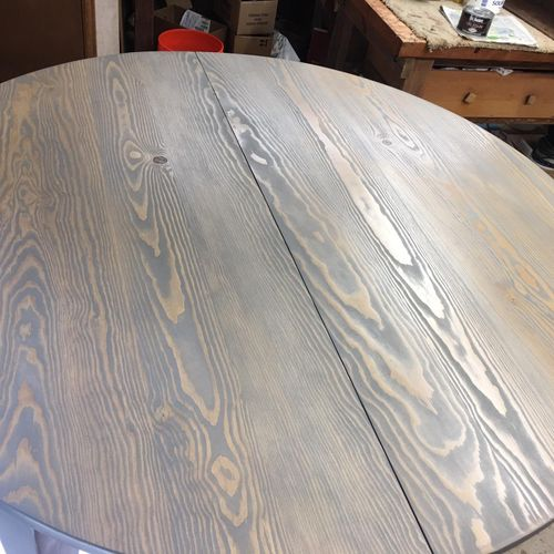 After - Round Table Custom Color