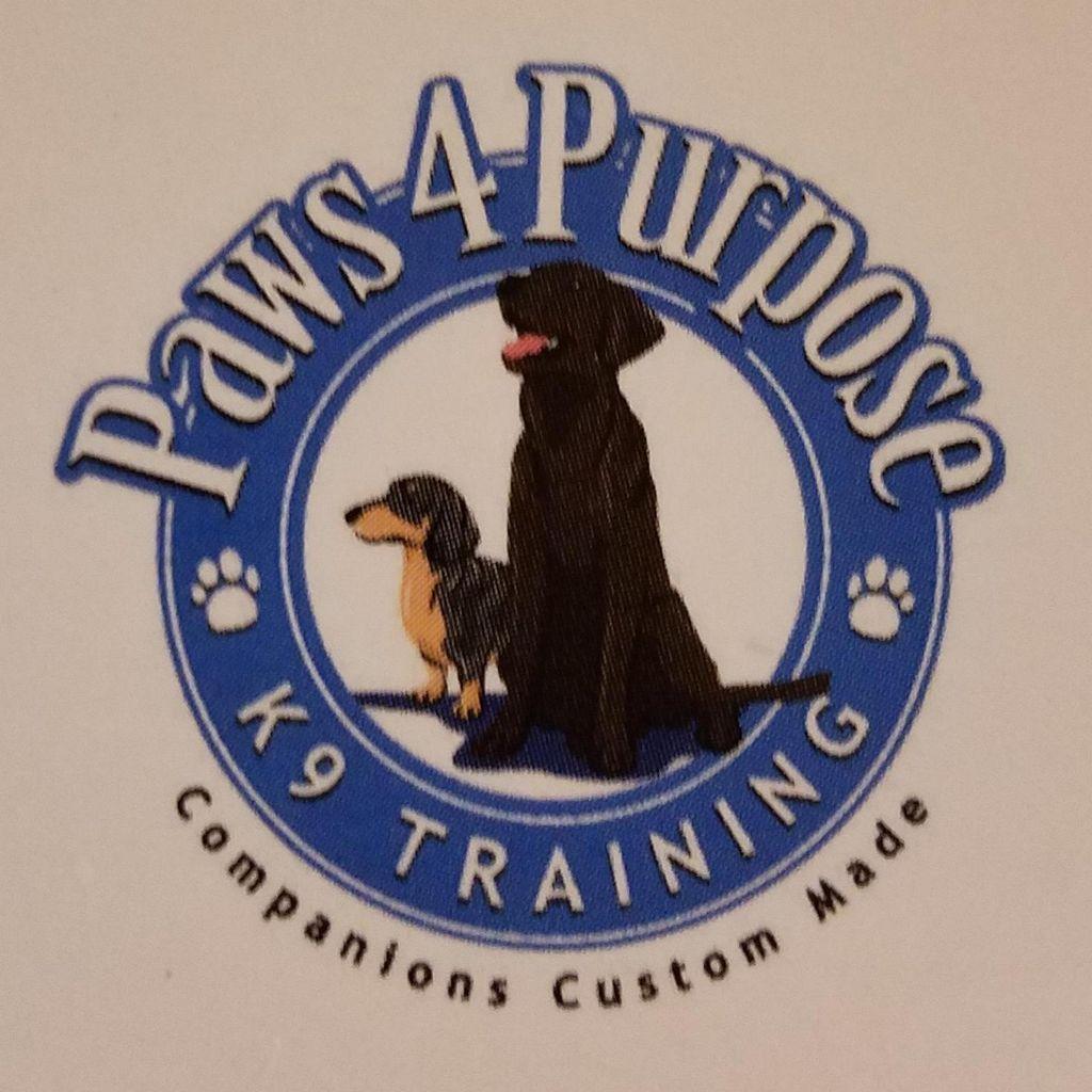Paws 4 Purpose, K9 Training LLC