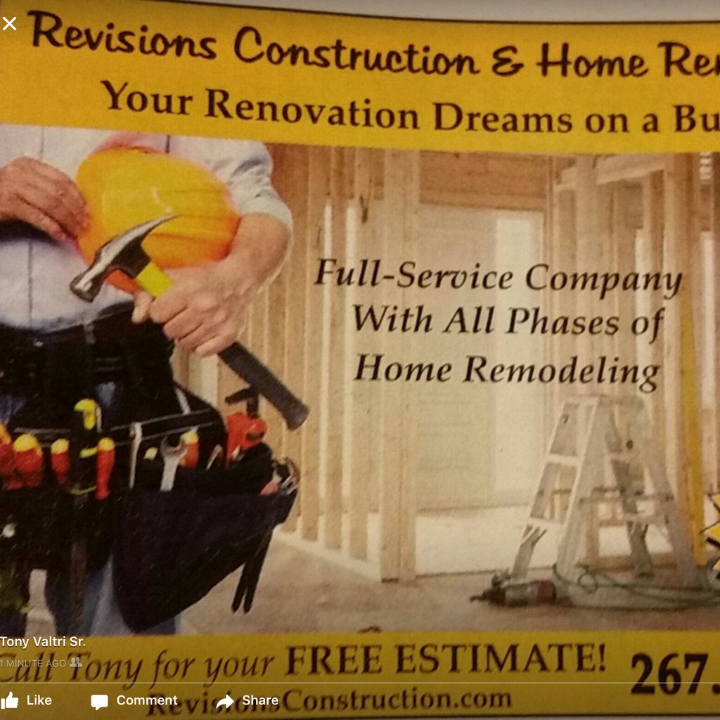Revisions Construction