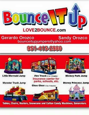 Avatar for Bounce It Up Party Rentals Upland, CA Thumbtack