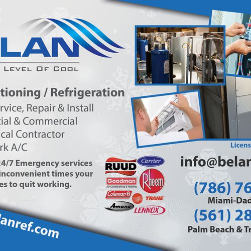 A/C & refrigeration services