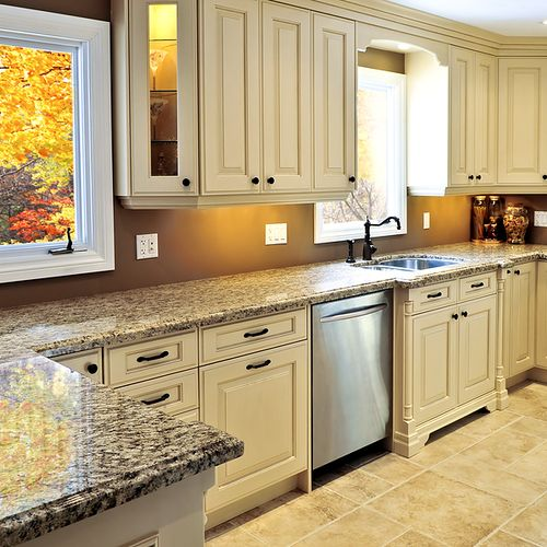 Granite has more advantages than any other natural stones....investment is minor and durability is mayor