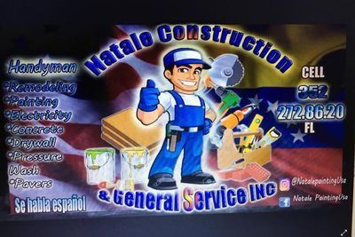 Avatar for Natale Construction & General Service Inc Winter Garden, FL Thumbtack