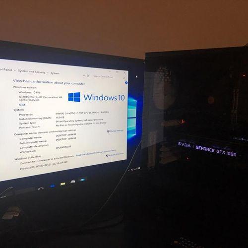 Gaming Desktop for customer. Built on 10/14/2018.