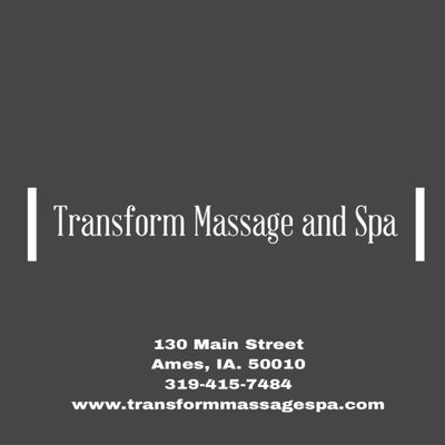 Avatar for Transform Massage and Spa Ames, IA Thumbtack