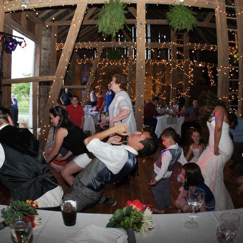 Wedding Reception   Rodale Institute   Kutztown PA