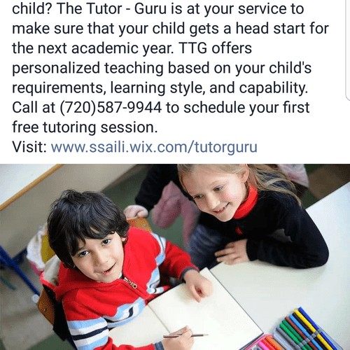 TTG could be your child's summer Tutor