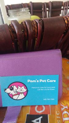 Avatar for Pam's Pet Care Just Like You're there