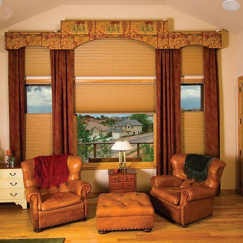 side panels, cornices & honeycomb