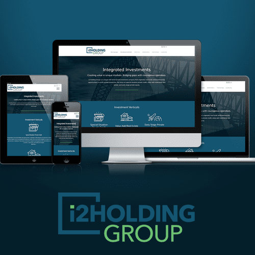 i2 Holding One-Page Website