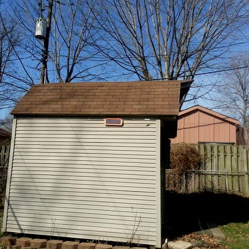 Shed Replacement Before