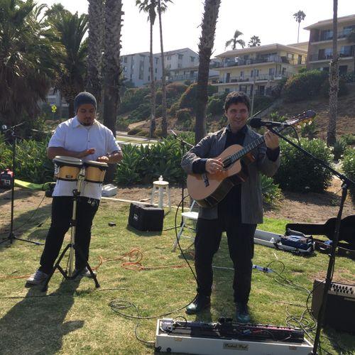 Latin Guitar at Outdoor wedding