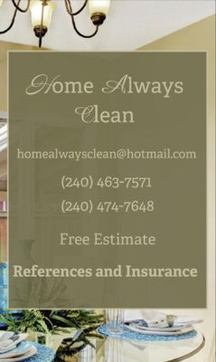 Avatar for Home Always Clean