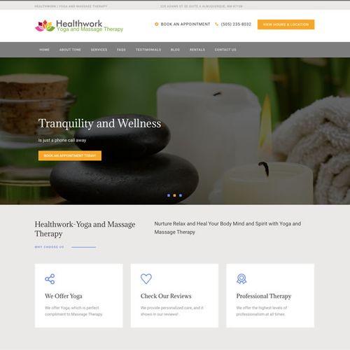 Albuquerque Massage Therapy and Yoga-  Wordpress