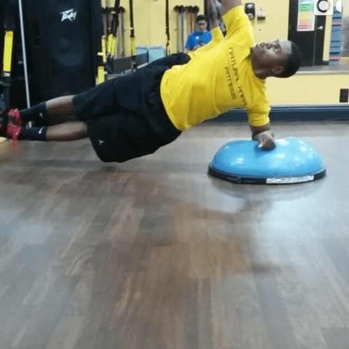 core stability and movement in one!  instagram: chofitnessandtraining