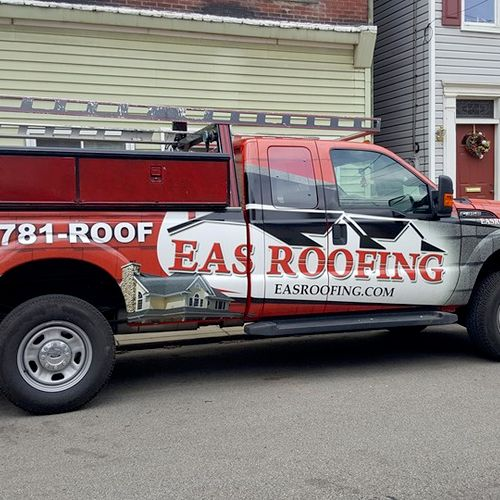 Eas Roofing Truck