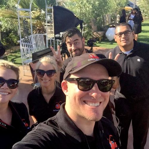 Ant Farm Media Crew Photo