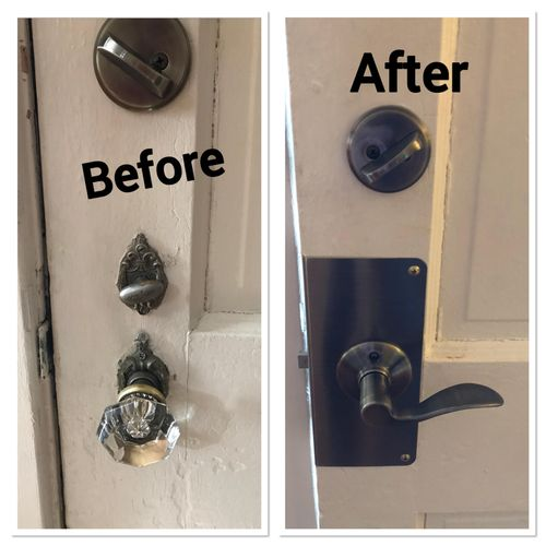 Black Lock LLC can help you find a new lock with a look that will fit your taste and budget!