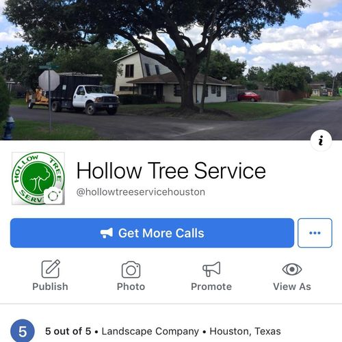 Follow us on Facebook! @Hollowtreeservicehouston