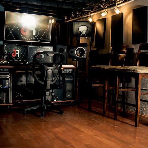 Main studio control room 2