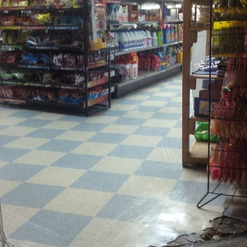 Floor After Strip and Wax