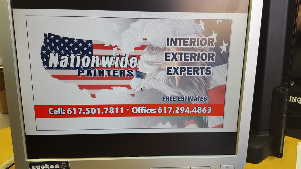 Nationwide painter's