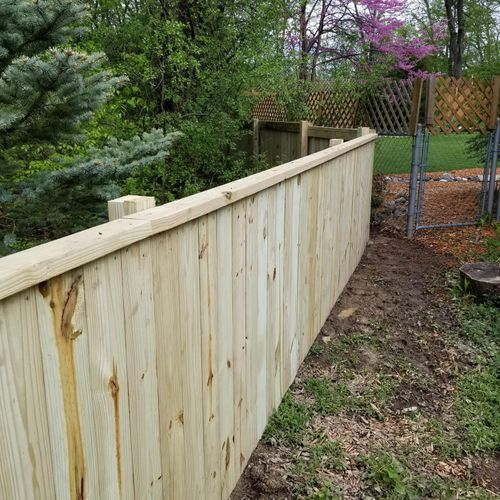Fence installed in Ann Arbor