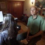Musing Tenor Piano Studio and Library