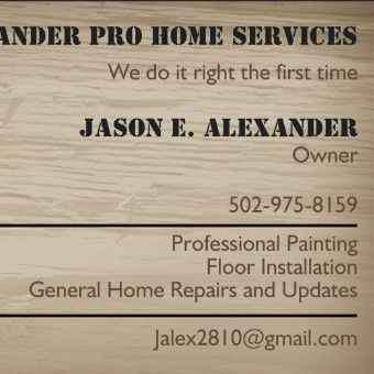 Avatar for Alexander Pro Home Services Louisville, KY Thumbtack