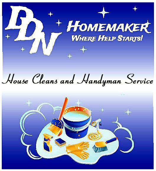 DDNHOMEMAKER House Cleans and Handyman  services