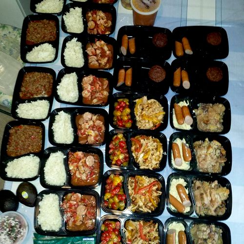 Full Week of Client Meals: Example of  $10 or less per entrée.