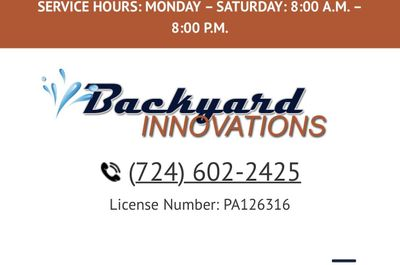 Avatar for BackYard Innovations Butler, PA Thumbtack