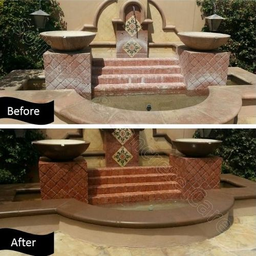 Restore your beautiful water features to their original luster.