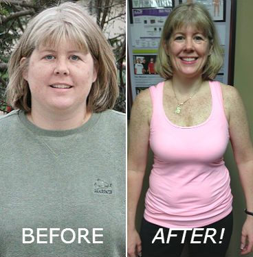 Carrie lost 40 pounds!