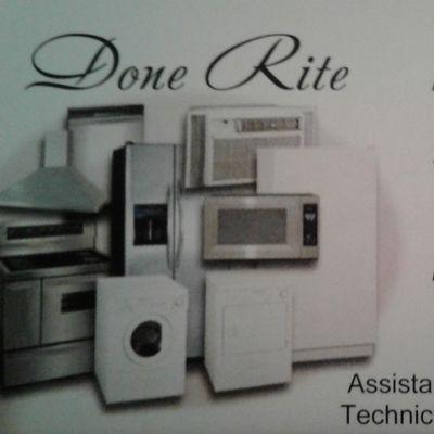 Done Rite Appliance Repair Glendale, AZ Thumbtack