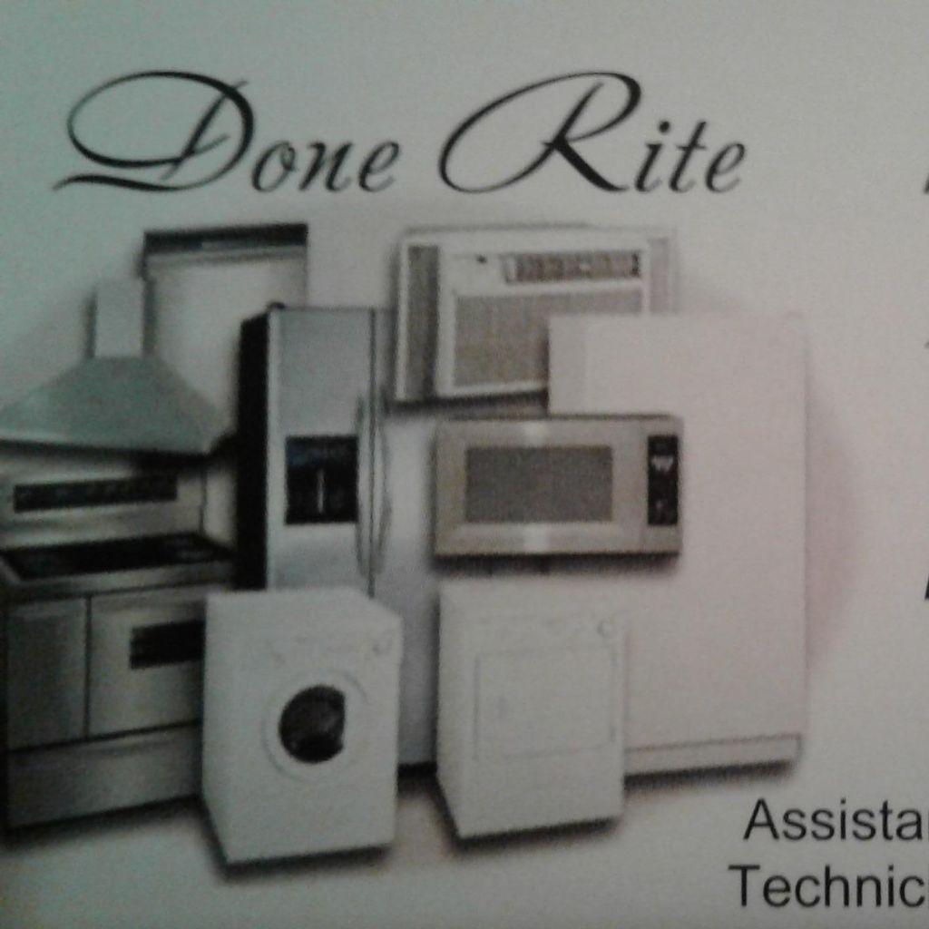 Done Rite Appliance Repair