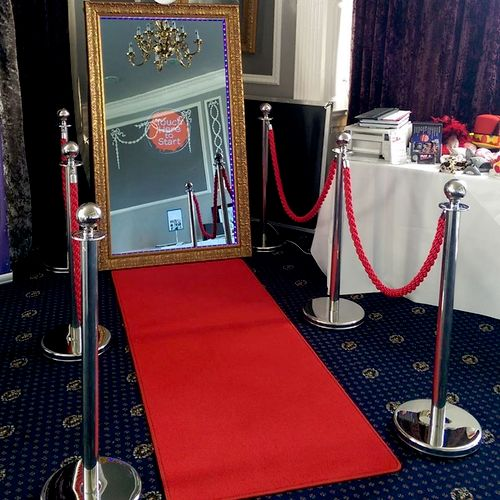 Red carpet treatment!! Open Air