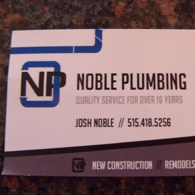 Avatar for Noble Plumbing