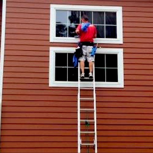 Exterior Window Cleaning- Birmingham, MI