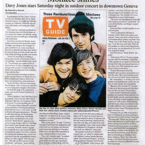 My interview with The Monkees' Davy Jones