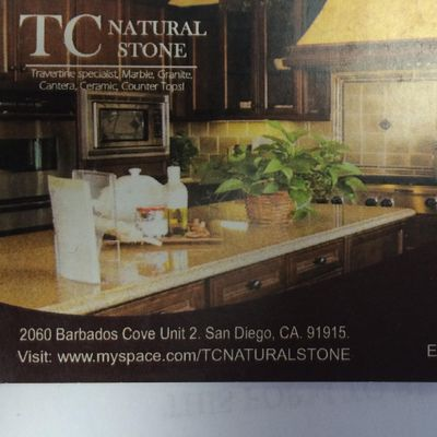 Avatar for TC Natural Stone San Diego, CA Thumbtack