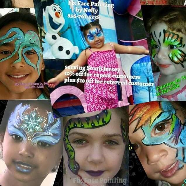 Face Painting by Nelly