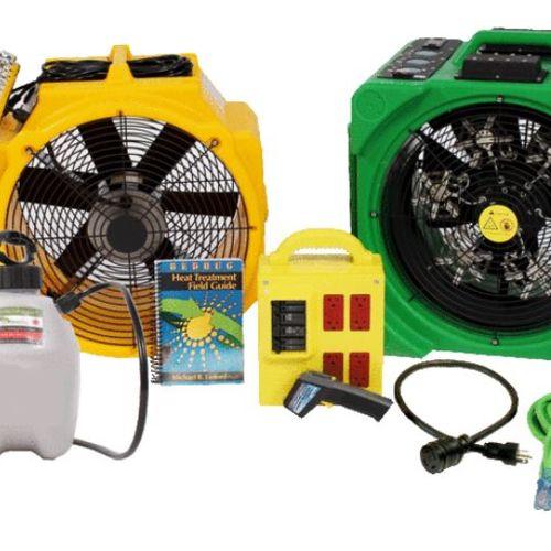 Bedbug heating equipment