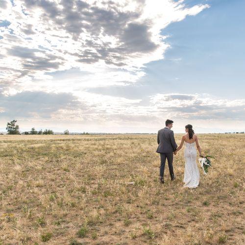 Ranch Style Colorado Wedding