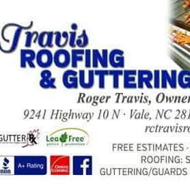 Travis Roofing Guttering