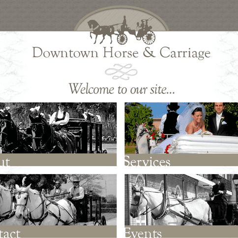 Client: Downtown Horse & Carriage