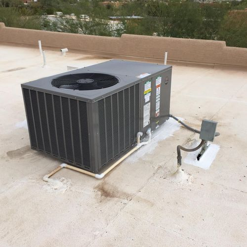 New Central Air Unit install